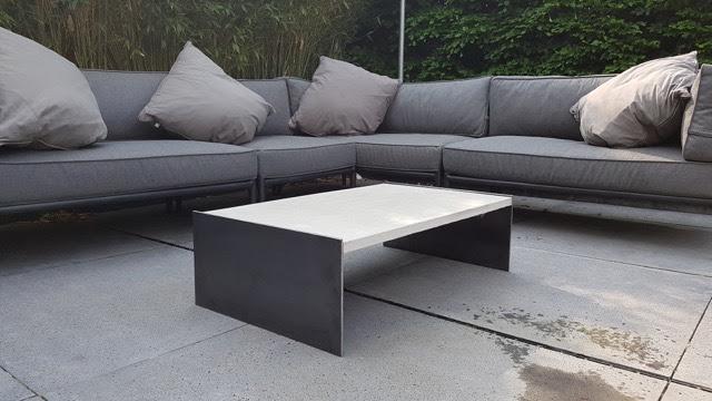 Garten Lounge Tisch B&K Design ~ 08174010_Garten Lounge Mit Höhenverstellbarem Tisch