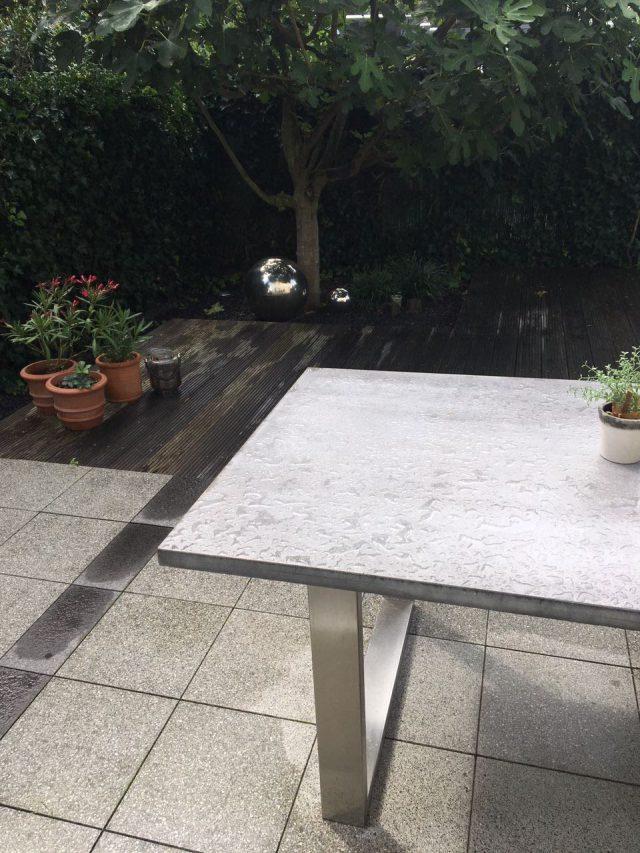 Beton Gartentisch B K Design