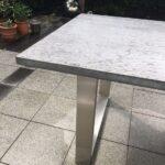 Beton Gartentisch