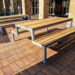 Outdoor-Möbel für HUMA Gymnasium