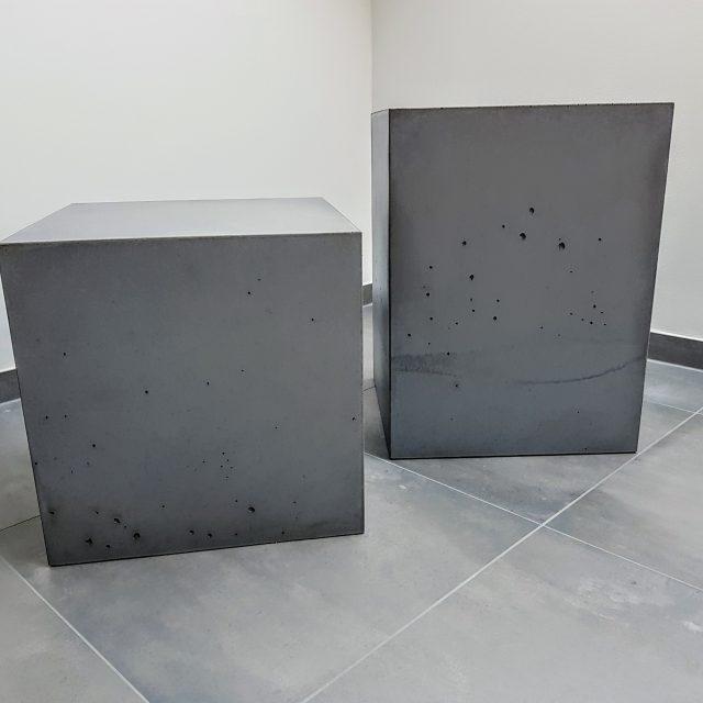 Individuelle Beton-Würfel