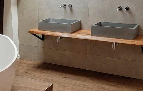 Bad Betonoptik Holz Cheap Projekte With Bad Betonoptik Holz