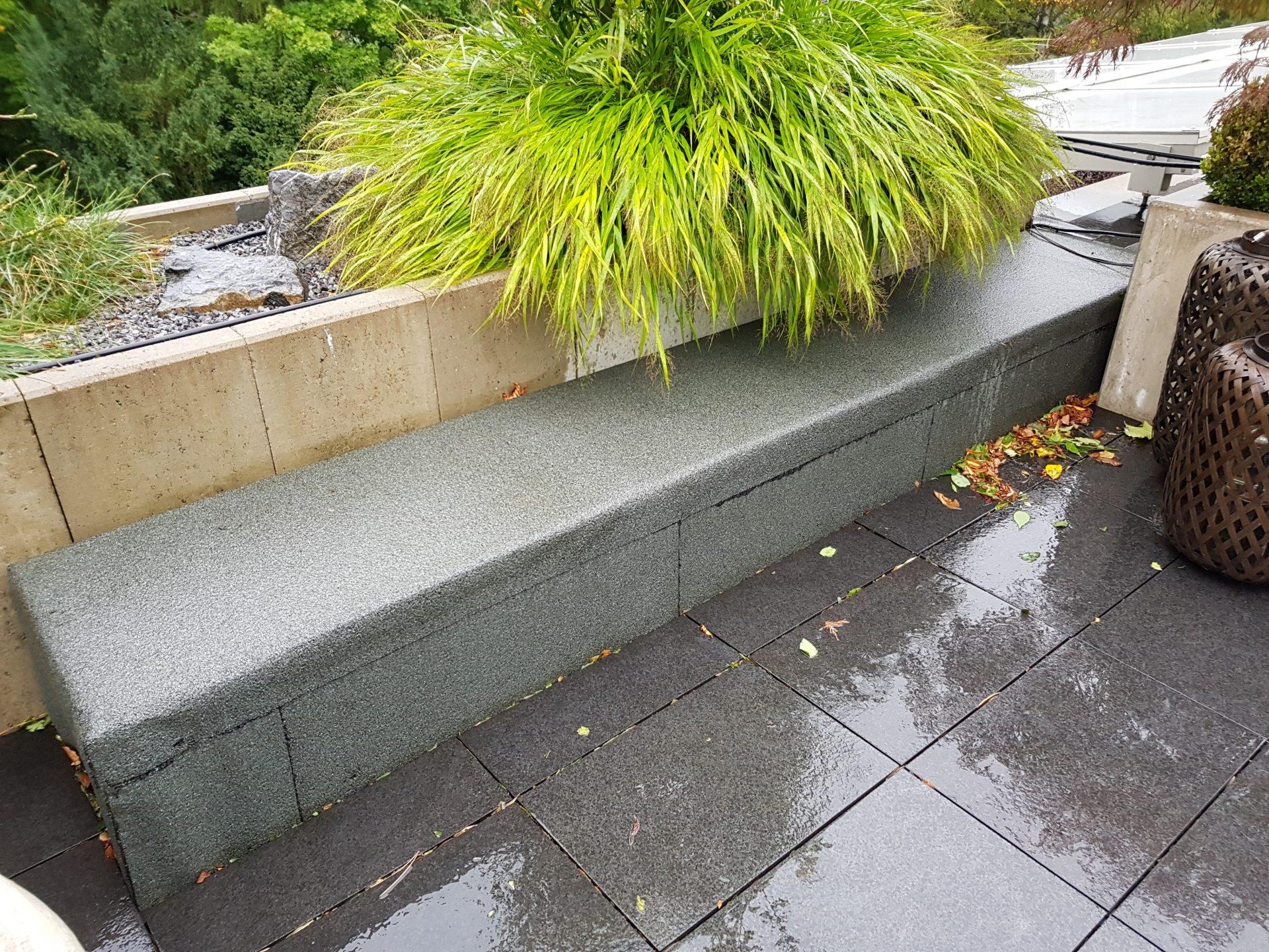 dachverkleidung aus beton | b&k design