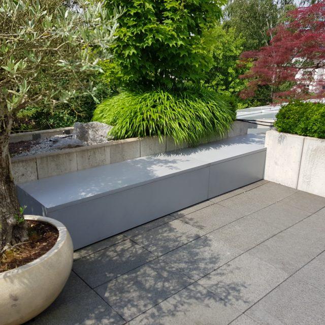 Dachverkleidung aus Beton