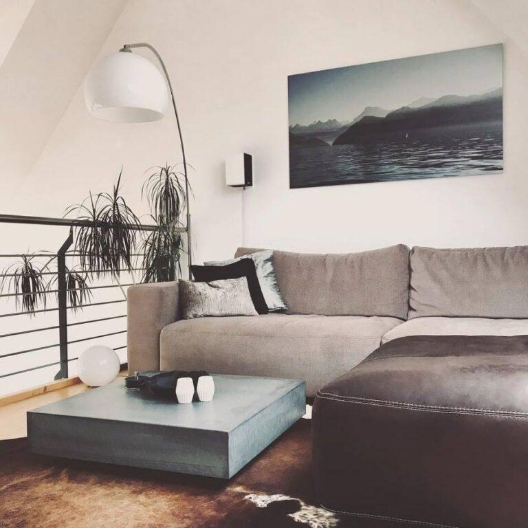Lounge Beton Couchtisch