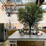 Küchen Arbeitsplatte aus Beton