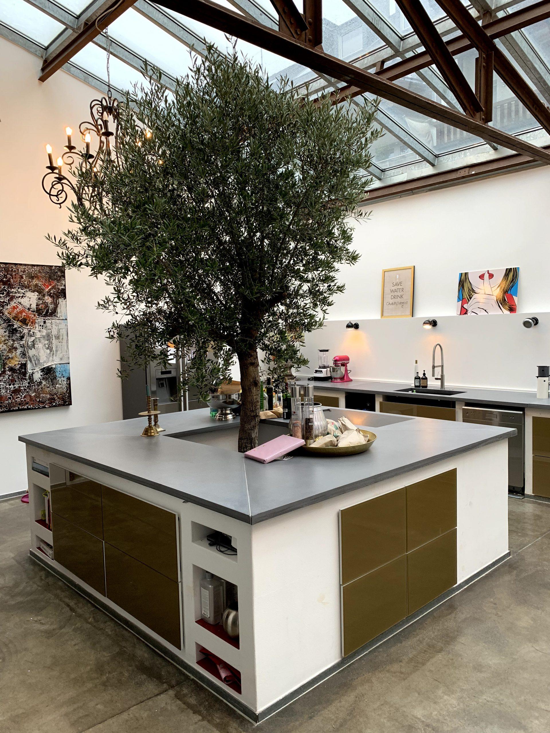 Küchen Arbeitsplatte aus Beton | B&K Design