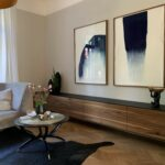 Waschtisch und TV-Sideboard